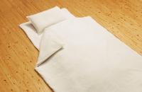麻ならではの肌触り・寝苦しい夏の夜も心地よい・ヘンプ本麻枕カバー(35×50cm)