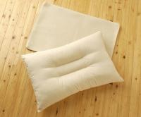 麻ごろ寝枕 カバー付(43x63)